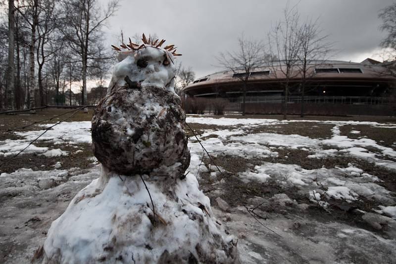 Российский эколог рассказал об опасности грязного снега