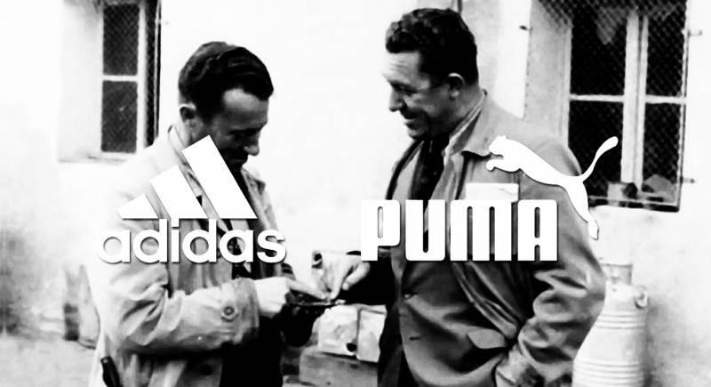 Ссора родных братьев: как они создали фабрики Puma и Adidas, которые находились через дорогу друг от друга