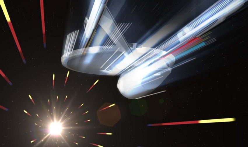 Субсветовой варп-двигатель может состоять из обычной материи