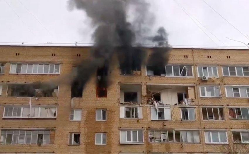 В Химках произошел взрыв в квартире жилого дома