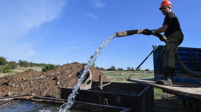 Стало известно, когда начнут бурить скважины в Азовском море для подачи воды в Крым