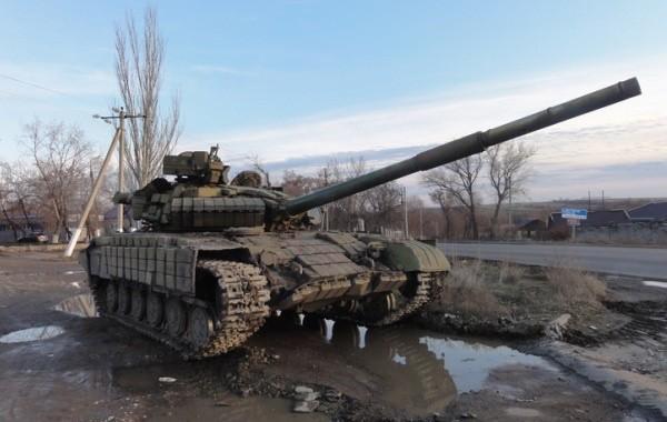 Обстановка в Донбассе продолжает накаляться