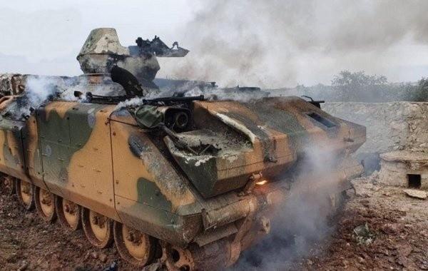 Российские военные испытали в Сирии атаку ударными дронами