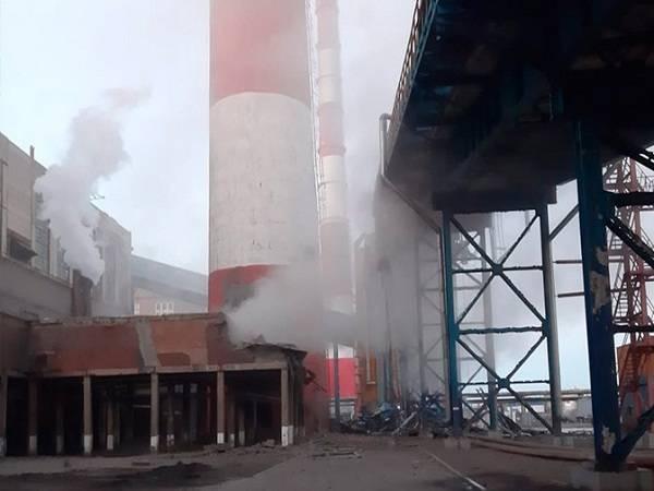 Взрыв трубы на Барнаульской ТЭЦ-2 лишил местных жителей тепла