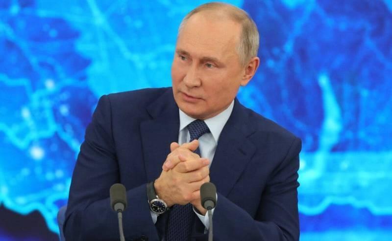 Подборка знаменитых фраз президента России Владимира Путина