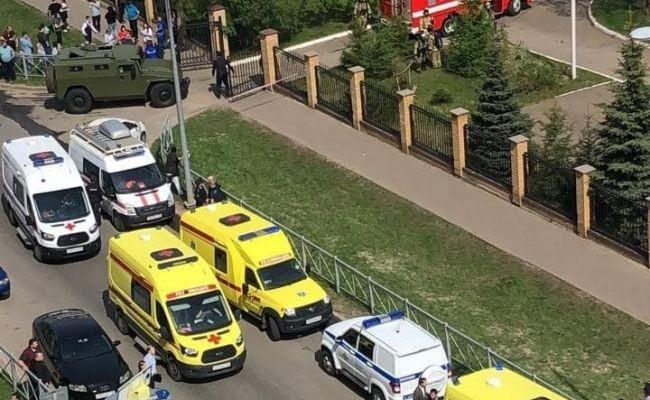 Новые подробности о стрельбе в Казанской гимназии