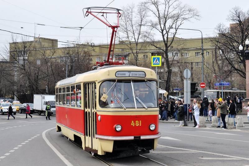 Столица России оснащает трамвайные маршруты современными Витязями