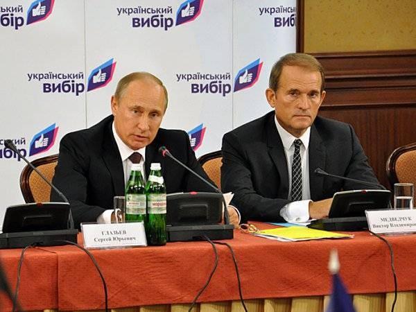 Некоторые факты из жизни кума Владимира Путина Виктора Медведчука