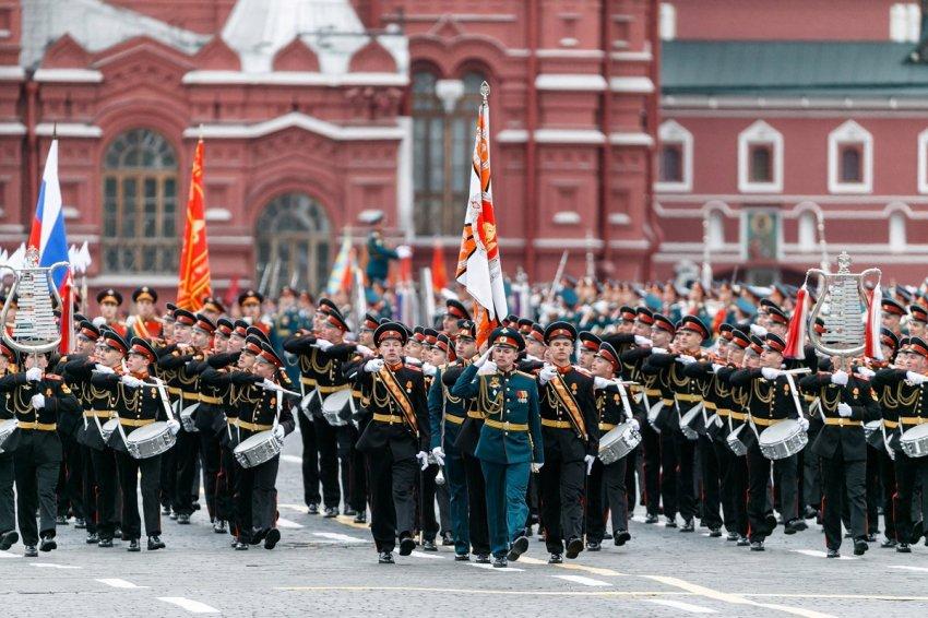 ГИБДД предупреждает о перекрытии улиц в Москве 9 мая 2021 года