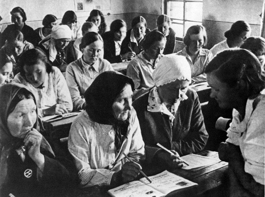 Как большевики боролись с неграмотностью
