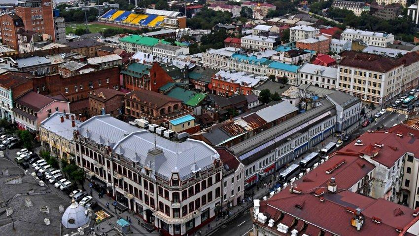 Во Владивостоке в мае 2021 года ввели режим ЧС из-за ухудшения экологической обстановки