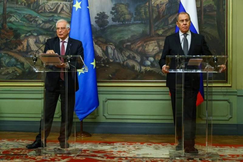 Позиция министра Лаврова: Европа касательно России возводит окопы