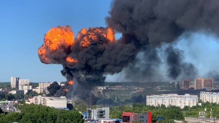 Установлена причина взрыва и пожара на АЗС в Новосибирске, от которого пострадали 30 человек
