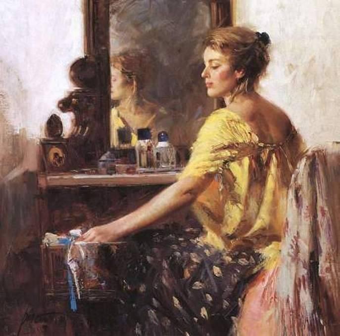 На Руси боялись зеркал и очень уважали этот аксессуар