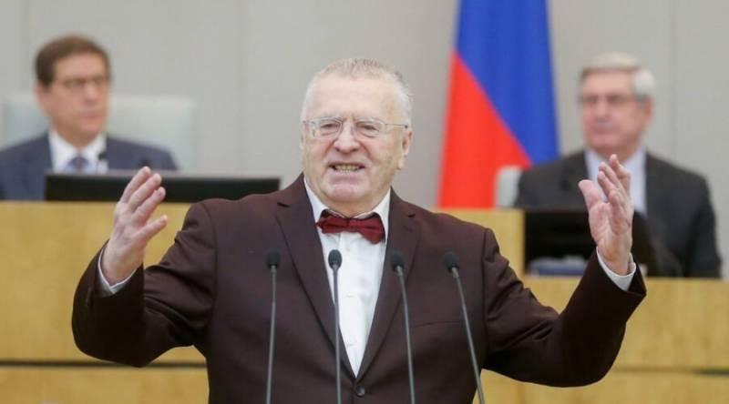 Депутат Госдумы Владимир Жириновский предложил закрыть российские границы