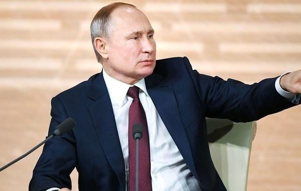 """Названа дата """"Прямой линии"""" с Владимиром Путиным"""