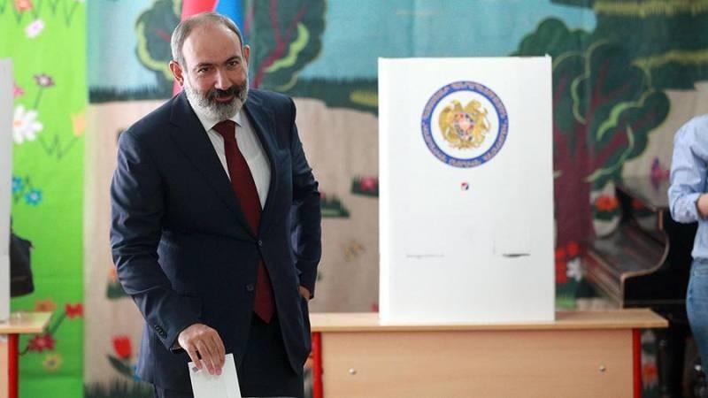 Кто лидирует и побеждает на выборах в Армении 2021 года