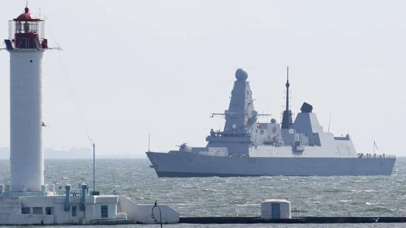 Американский корреспондент стал очевидцем инцидента в Черном море 23 июня 2021 года