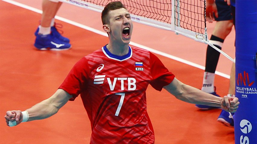 Определились полуфиналисты мужской лиги наций по волейболу 2021 года