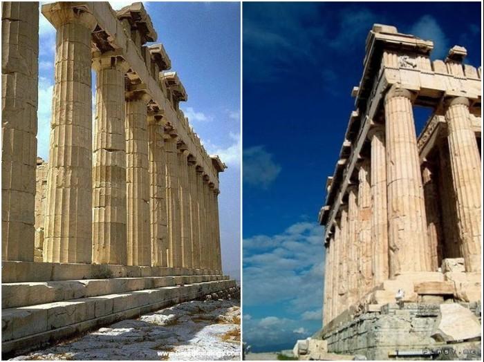 Что не так с пропорциями древнегреческих храмов?