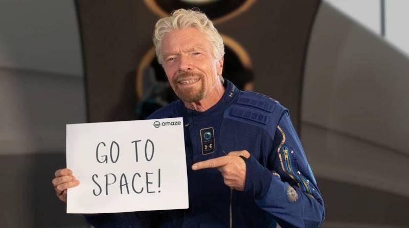 За космическим полетом миллиардера Ричарда Брэнсона 11 июля 2021 года следили миллионы людей