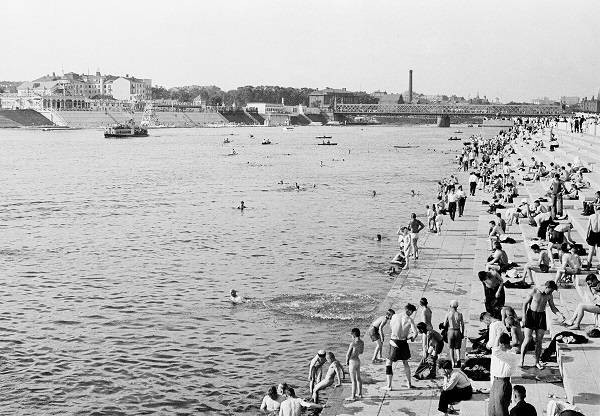 Как жители Советского Союза спасались от жары летом