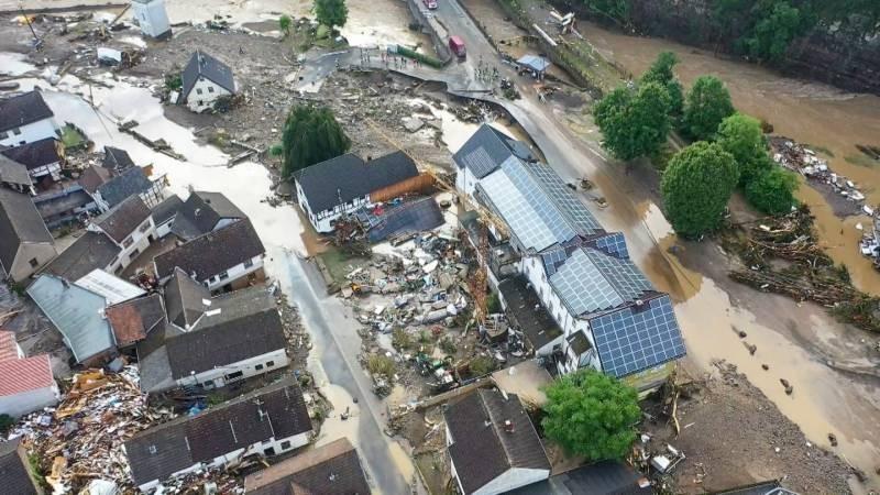 Дожди в Европе за июль 2021 года причинили миллиардные ущербы и унесли сотни жизней