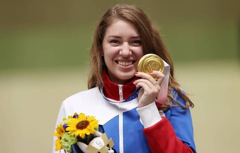 Спортсмены из России снова пополнили копилку страны золотыми медалями Олимпиады в Токио