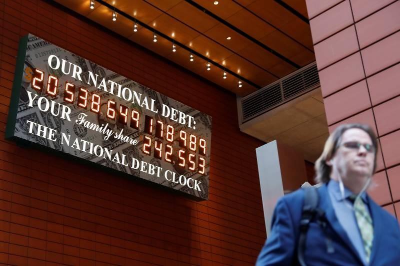 Эксперты прогнозируют дефолт в США в 2021 году