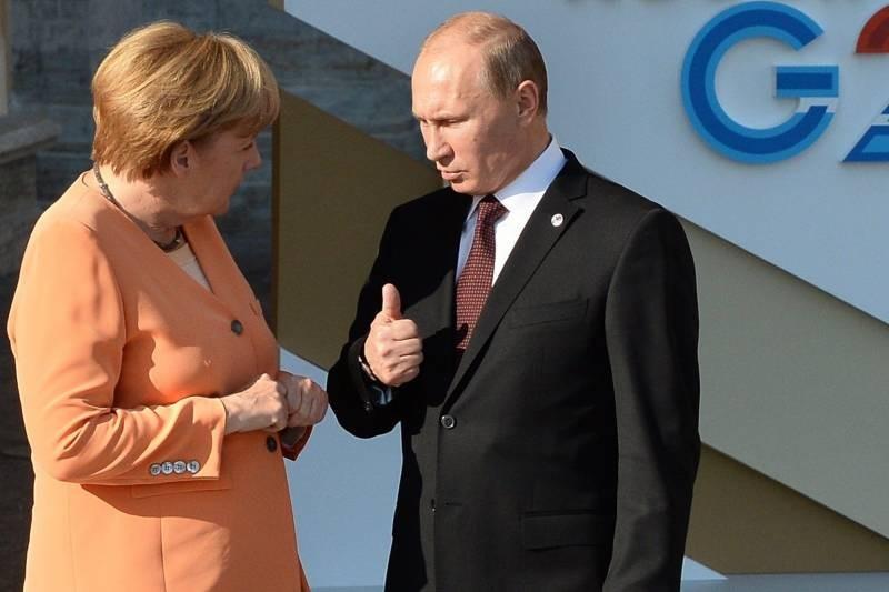 Из-за чего ругались Ангела Меркель и Владимир Путин