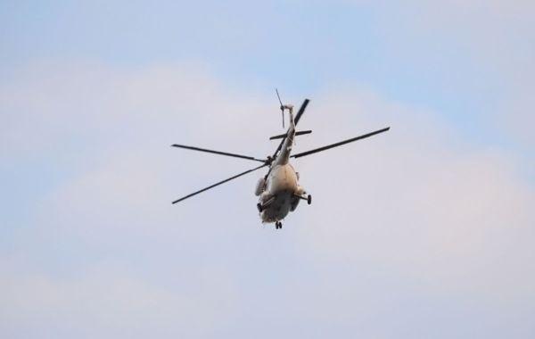 Вертолет потерпел крушение на Камчатке