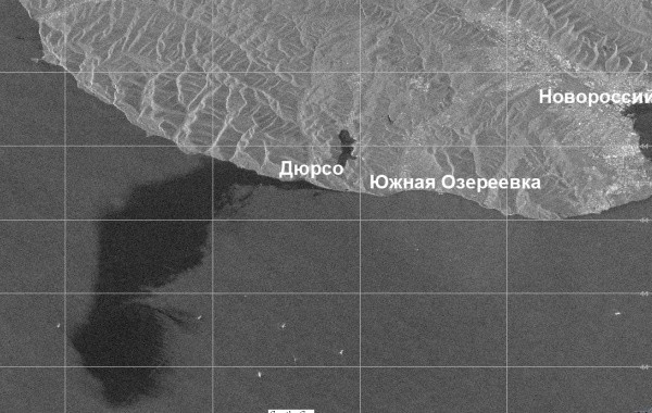 Разлив нефти у Новороссийска грозит катастрофой
