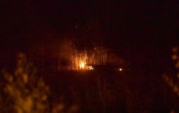 Площадь лесных пожаров в Марий Эл продолжает увеличиваться
