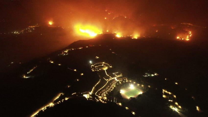 Будут ли эвакуировать Афины из-за сильных пожаров