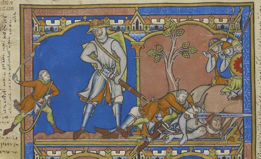 Уровни насилия: мир Средневековья