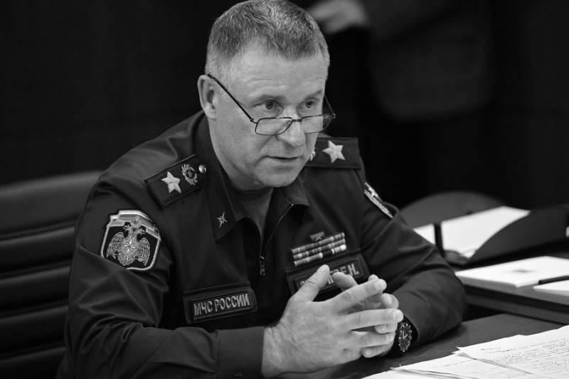 В Норильске во время учений трагически погиб глава МЧС Зиничев