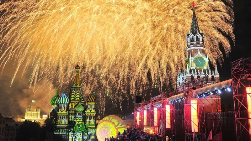 Где состоится салют в честь Дня города Москва в 2021 году