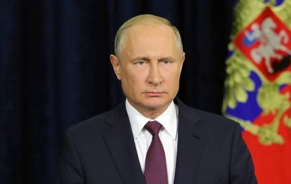 Путин обратился к россиянам в преддверии выборов в Госдуму
