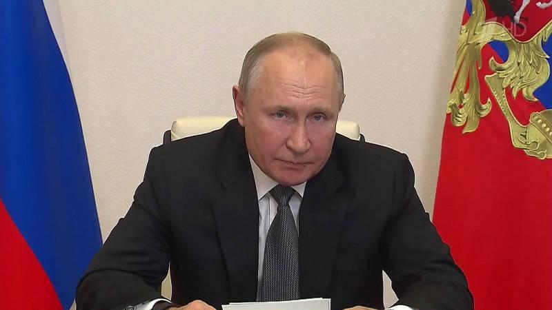 Президент Путин выступил в Госдуме