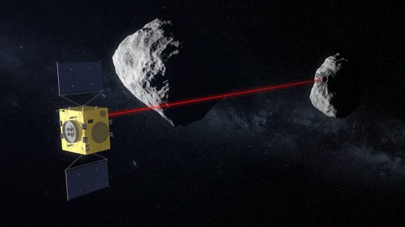 В космосе нашли астероид, который на 85% состоит из железа и никеля