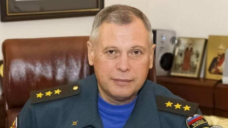 ВРИО главы МЧС стал один из заместителей Евгения Зиничева